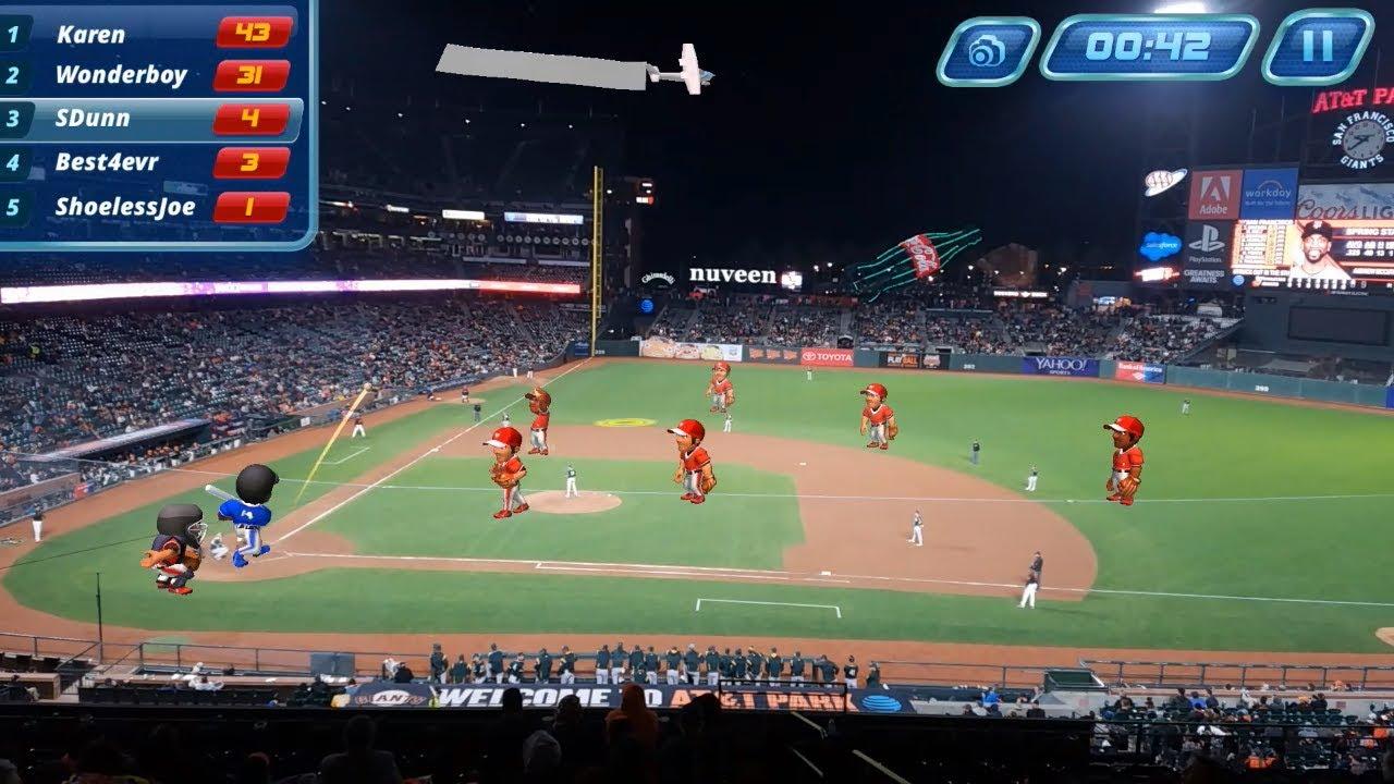 スポーツ観戦の退屈な中断時間を、アプリ「Virtex Arena」で楽しいゲームの時間に変える!