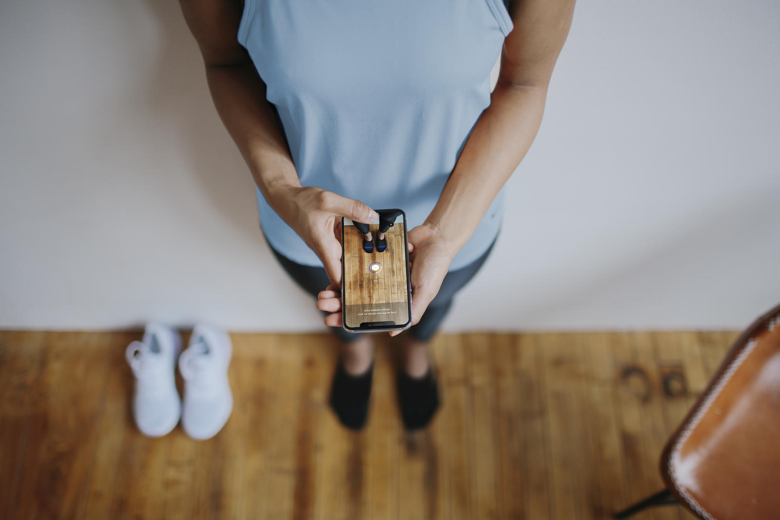 Nikeの公式アプリにARの機能を使い足のサイズが測れる新機能『Nike Fit』が登場