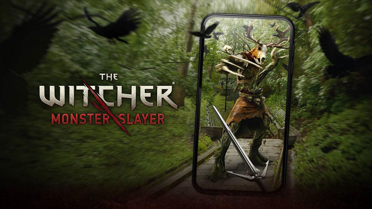 位置情報を活用したモバイルARゲーム「ウィッチャー:モンスタースレイヤー」を配信!出現するモンスターとバトル