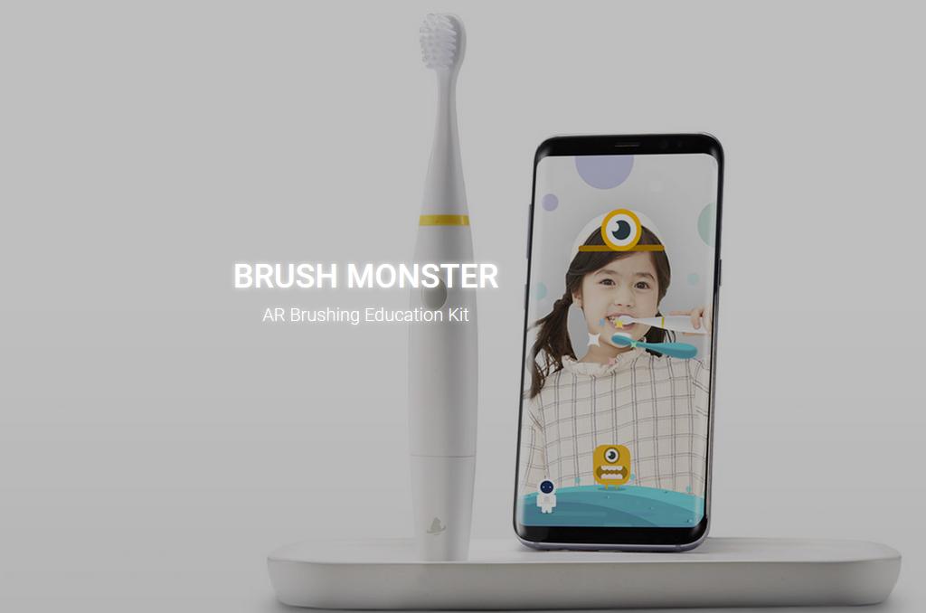 かわいいARモンスターが子供の歯磨き嫌いを克服?! ゲーム感覚でブラッシングできる「Brush Monster」