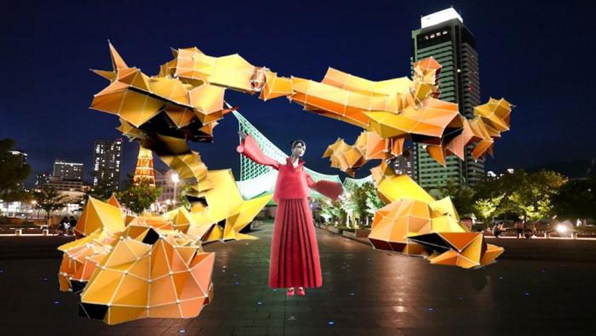 神戸市のメリケンパークがARでオペラシアターに変身!新たな観光コンテンツとして「TECHNOPERA」をリリース