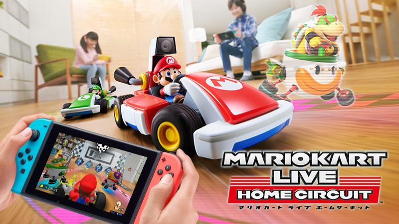 ARゲーム「マリオカート ライブ ホームサーキット」が発売 自宅が臨場感たっぷりのレース会場に
