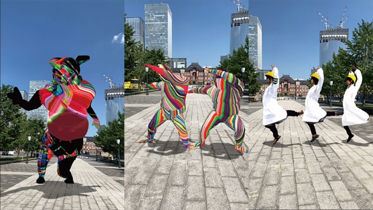 ARのアート作品が東京の街を彩る!国際芸術祭「東京ビエンナーレ2020/2021」開催