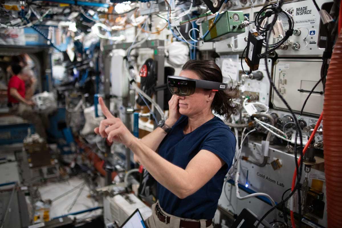 宇宙でARを使ったT2ARプロジェクトが始動!国際宇宙ステーションなどの機材メンテナンスに活用