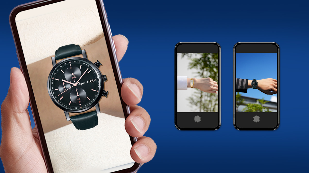【AR写真あり】腕時計の試着サービス!アニエスベーの「VERTUAL FITTING」を体験してみた!